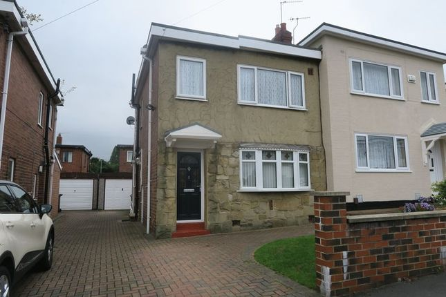 Thumbnail Semi-detached house for sale in Parkwood Drive, Beeston, Leeds