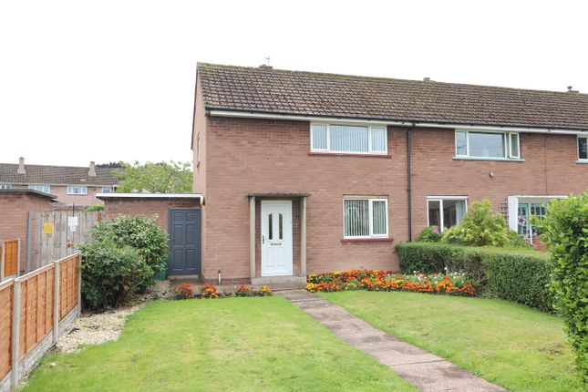Thumbnail End terrace house for sale in Stonegarth, Carlisle