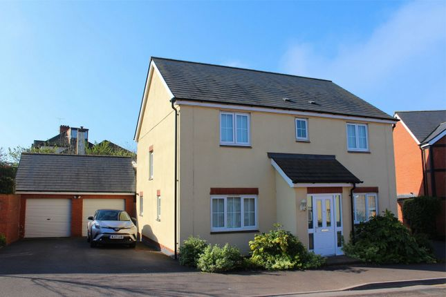 Thumbnail Detached house for sale in Quartly Drive, Bishops Hull, Taunton, Somerset