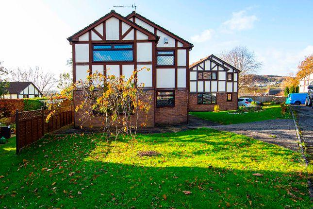 Thumbnail Detached house for sale in Beechcroft, Trelewis, Treharris