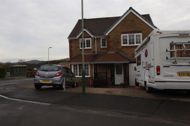 Thumbnail Detached house for sale in Heol Tyddyn, Caerphilly