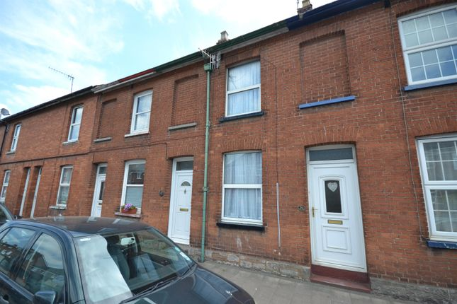 Thumbnail Terraced house to rent in West Exe South, Tiverton