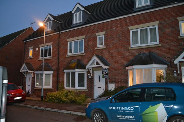 Thumbnail Town house to rent in Massey Court, Newark
