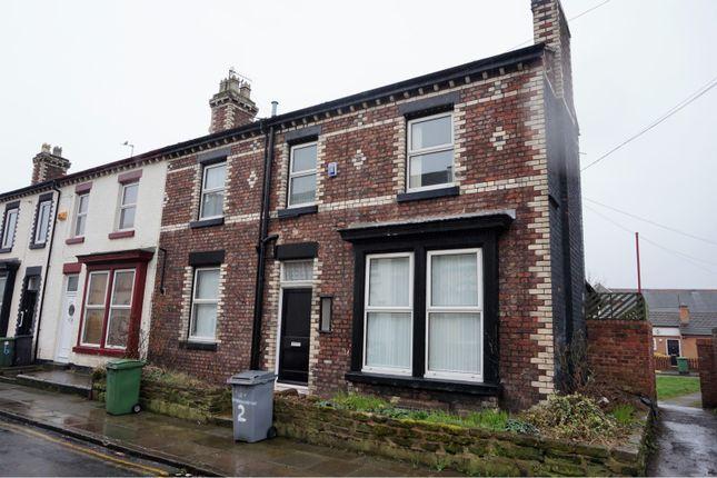 Thumbnail End terrace house to rent in Allerton Road, Birkenhead