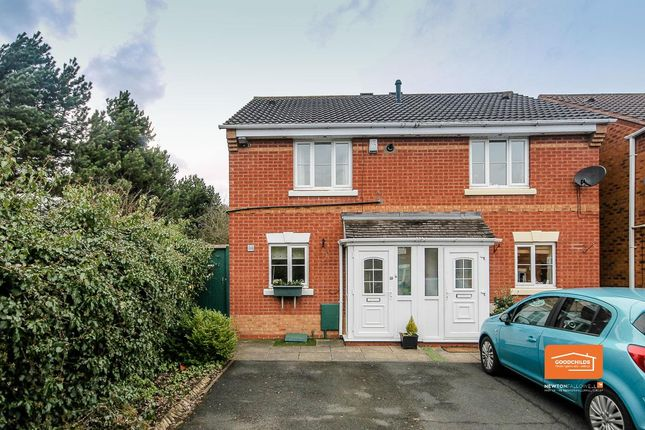 Thumbnail Semi-detached house for sale in Balmoral Way, Beechdale, Walsall