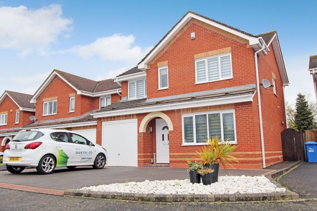 Thumbnail Detached house for sale in Mansfield Close, Tame Meadow, Tamworth