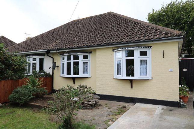 Thumbnail Semi-detached bungalow for sale in Princes Avenue, Benfleet