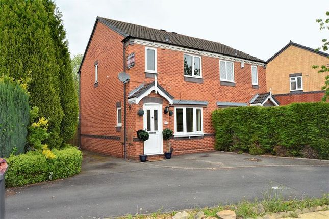 Thumbnail Semi-detached house for sale in Quines Close, Muxton, Telford