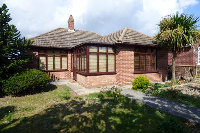 Thumbnail Detached bungalow to rent in Malvern Rise, Lowestoft