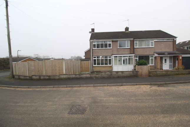 3 bed semi-detached house for sale in South View, Whitwell, Worksop S80