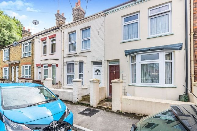 Thumbnail Terraced house to rent in Cornwall Road, Gillingham