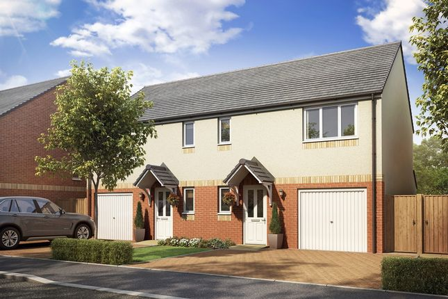 """Thumbnail Semi-detached house for sale in """"The Newton"""" at Lanton Road, Falkirk"""