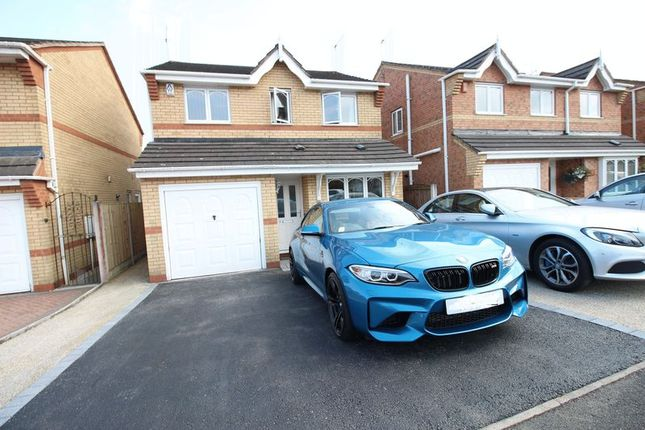 Thumbnail Detached house for sale in Oakfield Grove, Biddulph, Staffordshire