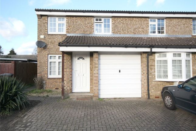 Semi-detached house to rent in Hazelbank Road, Chertsey, Surrey