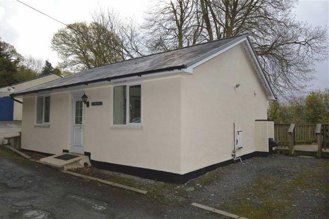 Thumbnail Detached bungalow for sale in Y Hen Siop, Plas Panteidal, Aberdyfi, Gwynedd