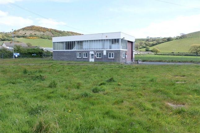 Commercial property for sale in Former Hgv Testing Station, Llanrhystud, Ceredigion