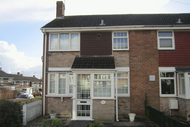 Thumbnail End terrace house for sale in Sutherland Avenue, Mount Nod, Coventry