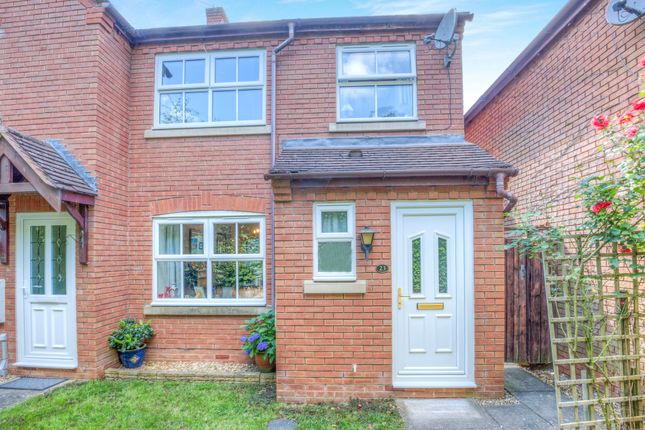 Thumbnail End terrace house for sale in St Laurence Way, Bidford-On-Avon, Alcester