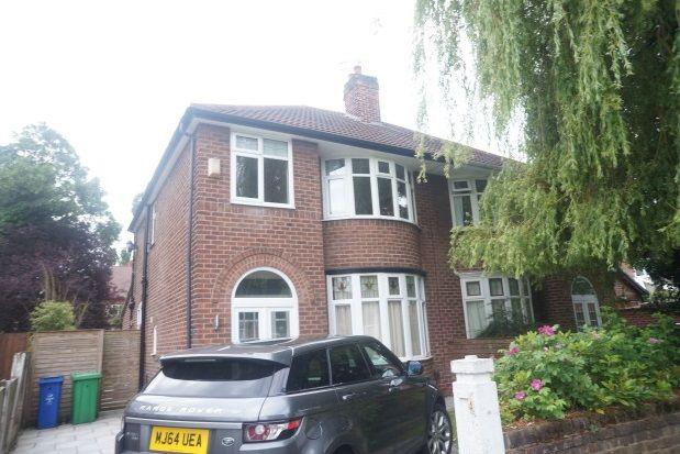 Thumbnail Property to rent in Ferndene Road, Didsbury