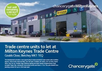 Thumbnail Warehouse to let in Milton Keynes Trade Centre, Unit 8, Goulds Close, Denbigh West, Milton Keynes, Buckinghamshire