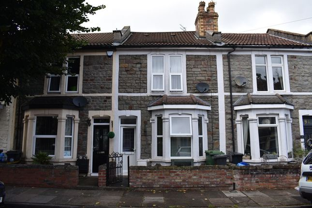 Thumbnail Terraced house to rent in Lawn Road, Fishponds, Bristol