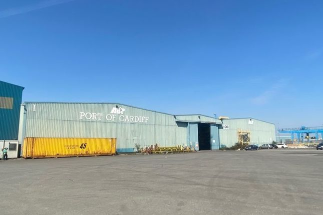Thumbnail Industrial to let in I Shed Warehouse, Longship Road, Port Of Cardiff