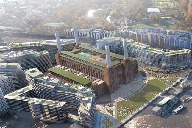 Thumbnail Flat for sale in Circus West, Battersea Power Station, Battersea, London