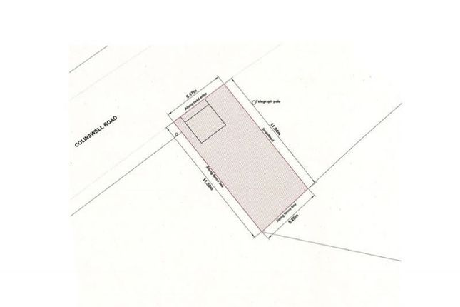 Land for sale in Plot With Detached Building, Colinswell Road, Burntisland, Fife KY30Hr
