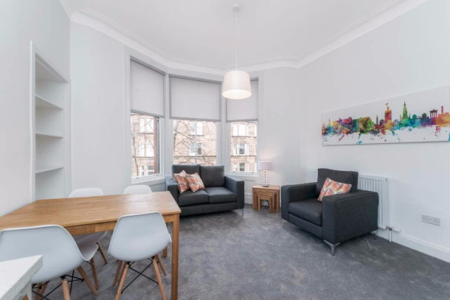 Thumbnail Flat to rent in Dudley Drive, Hyndland, Glasgow, 9Sb