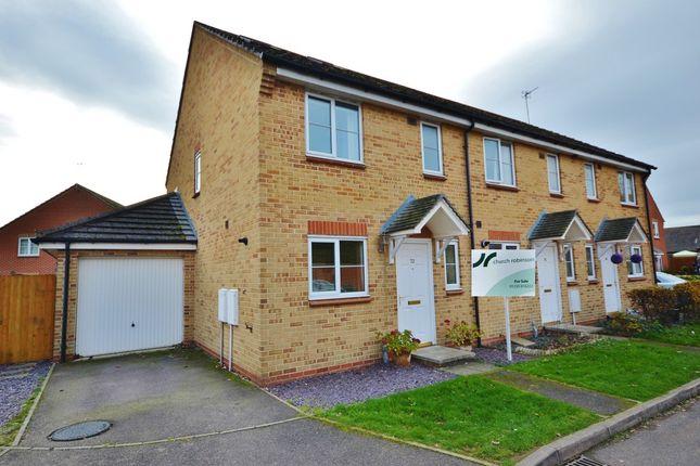 Thumbnail End terrace house for sale in Cherwell Road, Berinsfield, Wallingford