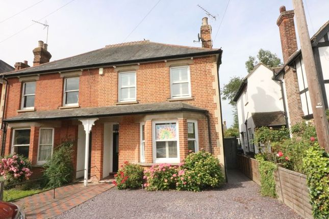 Thumbnail Semi-detached house for sale in Daleham Avenue, Egham