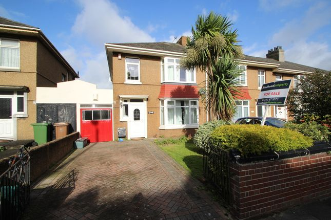 Thumbnail End terrace house for sale in Saltash Road, Keyham, Plymouth