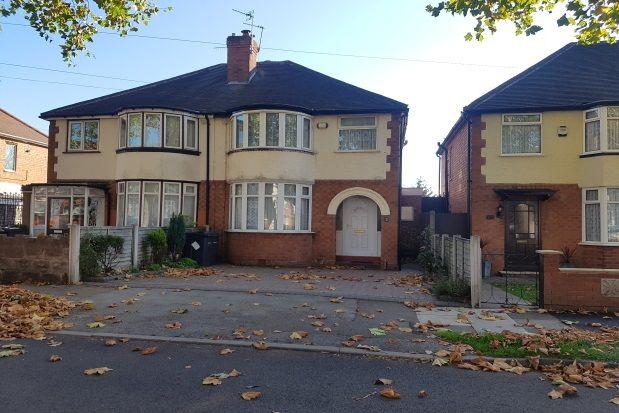 Thumbnail Property to rent in Dunvegan Road, Erdington, Birmingham