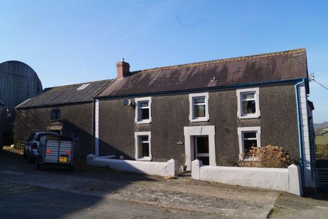 Thumbnail Farmhouse for sale in Cynwyl Elfed, Carmarthen