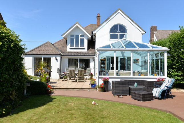 Thumbnail 4 bed detached house for sale in Purbeck Road, Barton On Sea, New Milton
