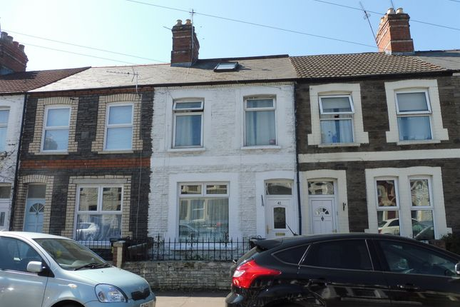 Thumbnail Terraced house for sale in Inverness Place, Roath, Cardiff