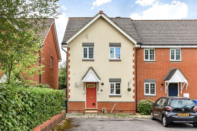 Thumbnail End terrace house to rent in Weaver Moss, Sandhurst, Berkshire