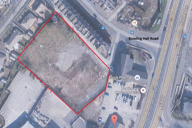 Thumbnail Land for sale in 144 Bowling Hall Road, Bradford