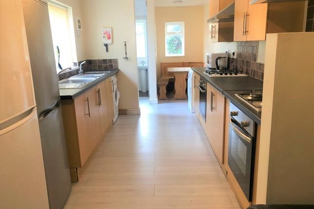 Thumbnail End terrace house to rent in Salisbury Road, Cathays, Cardiff