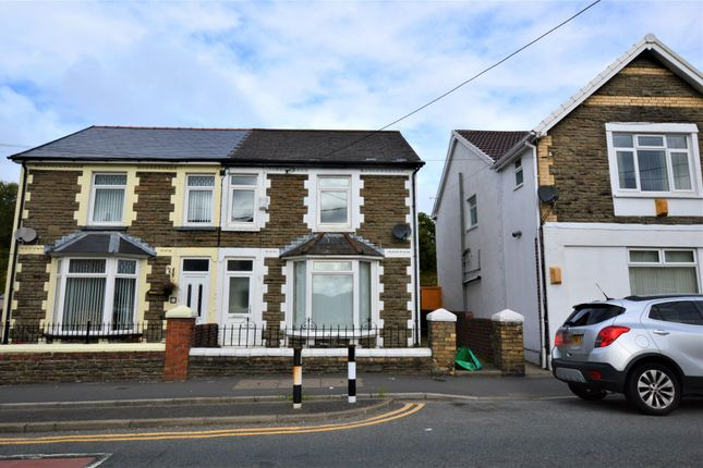 Thumbnail Semi-detached house to rent in Lewis Street, Ystrad Mynach, Hengoed