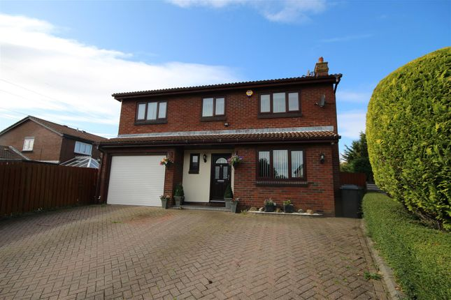 Thumbnail Detached house for sale in Cinderford Close, Boldon Colliery