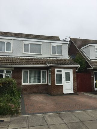 Thumbnail Semi-detached house for sale in Appledore Road, Blyth