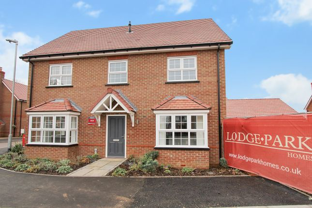 Thumbnail Detached house for sale in Newbury Lane, Silsoe, Bedfordshire