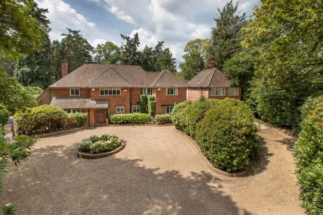 Thumbnail 5 bedroom detached house for sale in Wellington Avenue, Wentworth, Virginia Water