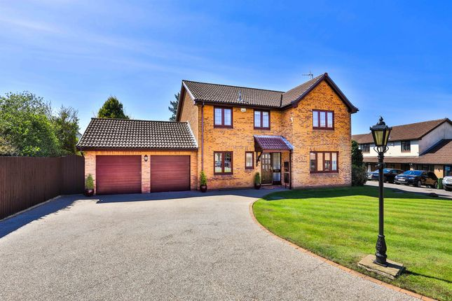 Thumbnail Detached house for sale in Cornflower Close, Lisvane, Cardiff
