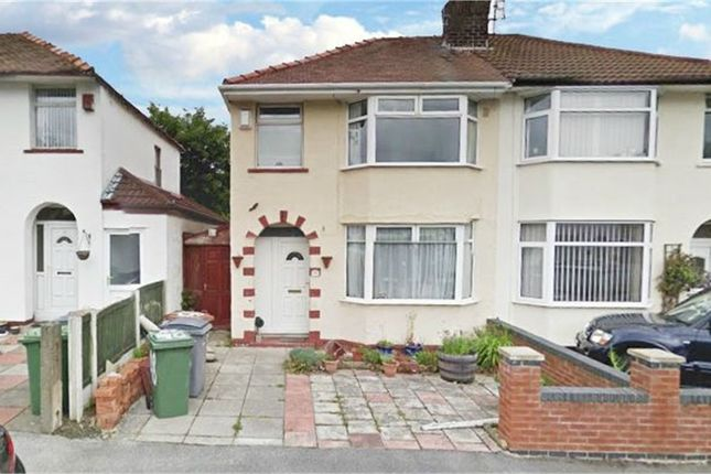 Thumbnail Semi-detached house for sale in Eccleshall Road, Wirral, Merseyside