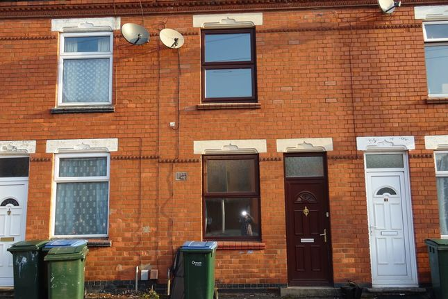 Thumbnail Terraced house to rent in Lansdowne Street, Stoke, Coventry