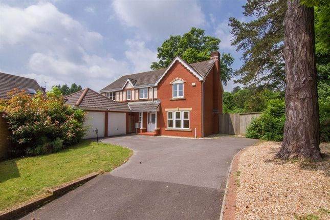 Thumbnail Detached house for sale in Bassetts Field, Thornhill, Cardiff