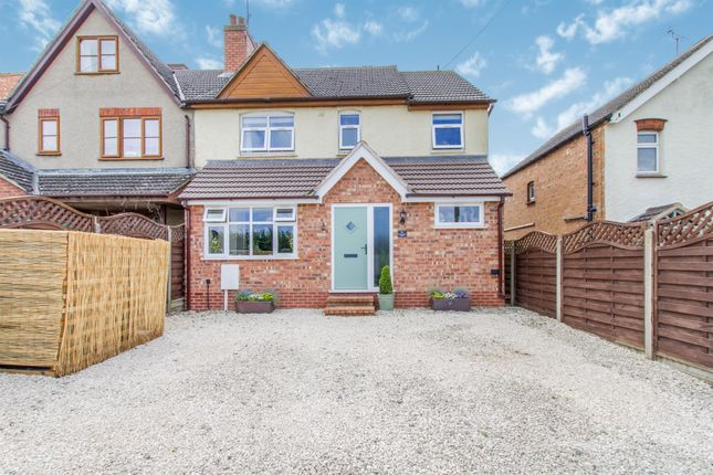 Thumbnail Semi-detached house for sale in Harborough Road, Braybrooke, Market Harborough