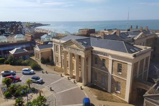 Thumbnail Flat to rent in The Royal Seabathing, Canterbury Road, Margate